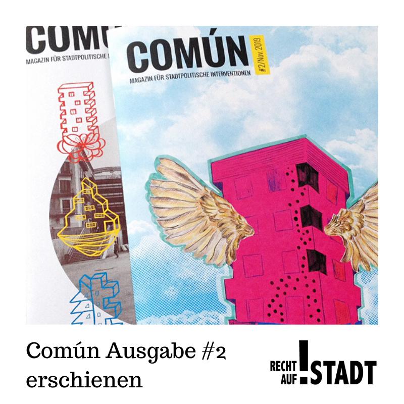 Común Ausgabe #2 erschienen