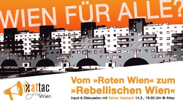 Vom Roten Wien zum Rebellischen Wien?