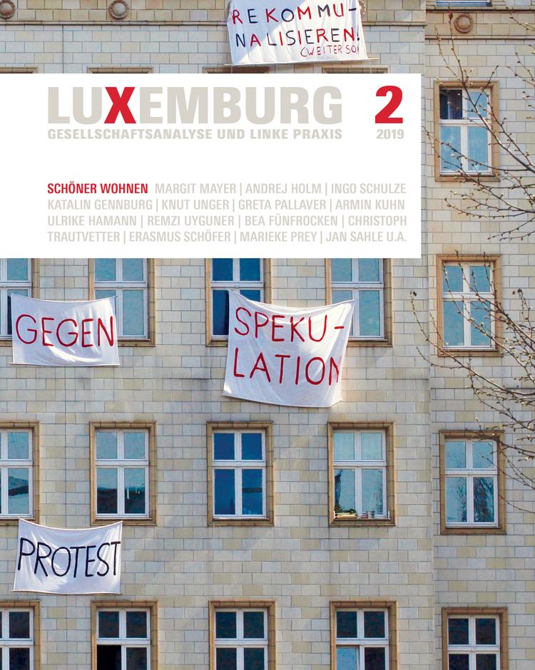 Zeitschrift LuXemburg zum Thema »SCHÖNER WOHNEN« erschienen